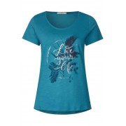 cecil Shirt met print op de voorkant