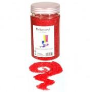 Geen Decoratie korrelzand rood 500 gram