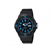 Reloj CASIO MRW-200H-2BVCF Diver-look Classic Collection Análogo Con Calendario-Negro