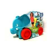 Mega Bloks - Klasszikus bukfencező elefánt - kék