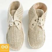Rawganique Grieg Glue Free Handmade Hemp Knit Shoes RGFT-7767
