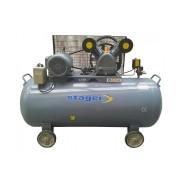 Stager - HM-V-0.6-370L - Compresor cu ulei, 4100 W, 600 l/min, 370 l, 8 bar, trifazat