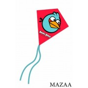 """Angry Birds Blue Bird Mini Poly Diamond Kite 7.5"""""""