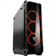Chassis COUGAR PANZER-G, Mid-Tower, Mini ITX/Micro ATX/ATX/ CEB, Dimension (WxHxD) 208x565x520(mm), Max. Graphics Card Length 42