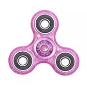 Fidget Spinner cu sclipici, roz