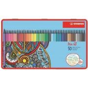 Stabilo Pennarelli Pen 68 Limited Edition Design Hartung. Scatola...