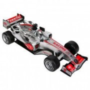 Masinuta curse Formula 1 gri metalizat