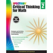 Spectrum Critical Thinking for Math, Grade 2, Paperback