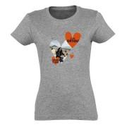YourSurprise T-shirt - Femme - Gris chiné - S
