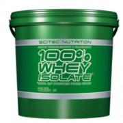 100% Whey Isolate 4000g vanília Scitec Nutrition