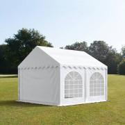 TOOLPORT Partytent 3x5m PVC 500 g/m² wit waterdicht Gartenzelt, Festzelt, Pavillon