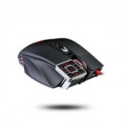 Mouse, A4 Bloody Commander ML16, Laser, USB, Black