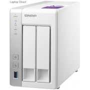 QNAP TS-231P TurboNAS 2-Bay 1.7GHz Dual Core Network Attached Drive
