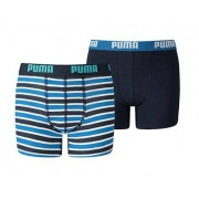 Puma - Basic Boxer Printed Stripes 2p - Boxershort Set