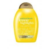 OGX Lemon Highlights Shampoo 385 ml Schampoo Transparent