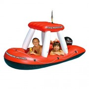 Swimline Fireboat Squirter Inflatable Pool Toy