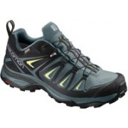 Salomon X Ultra 3GTX Hiking & Trekking Shoes For Women(Green)