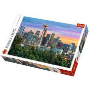 Space Needle, Seattle, USA - 1500 Pieces Jigsaw Puzzle by Trefl