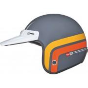 Nexx Garage X.G10 Larry Span Jet Hjälm 2XL Grå Orange