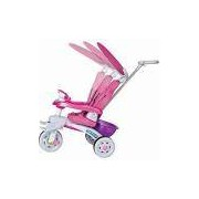 Triciclo Magic Toys Super Trike Rosa 3 Posições