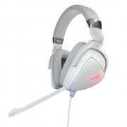 HEADPHONES, ASUS ROG Delta Hi-Res ESS Quad-DAC, Aura Sync, Gaming, Microphone, White