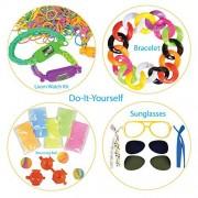 DIY Creativity Set by ArtCreativityTM - 4 Fun Creative Do-It-Yourself Craft Projects - Includes 9pc Sunglasses Kit