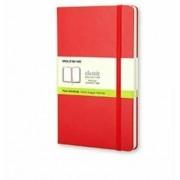 Moleskine Taccuino pocket a pagine bianche copertina rigida rosso...