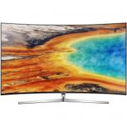 Televizor LED Curbat Samsung 65MU9002, 163 cm, Smart TV, 4K UHD, Wi-Fi, Argintiu