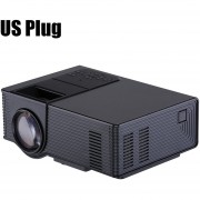Proyector VS314 LED 1500 Lumens 800x480 1080P Media Player US PLUG-Negro