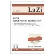 Legea contenciosului administrativ (actualizat la 20.02.2013).