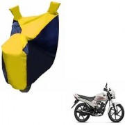 Intenzo Premium Yellow and Black Two Wheeler Cover for Honda Dream Neo