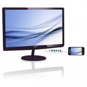 Philips Monitor Ips-ads led 27'' wide 277e6edad 14ms multimediale 0.311 Fullhd Lucido nero vga dvi hdmi