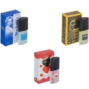 Skyedventures Set of 3 Blue Lady-Kabra Yellow-Younge Heart Red Perfume