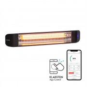 Klarstein Smartwave, încălzitor cu infraroșu, 2400 W, WiFi, control prin aplicație, negru (ACO7-Smartwave)