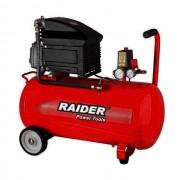 Compresor Raider RD-AC02, 2HP/50 L, 1.5 KW