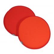 Vitra - Seat Dots Sitzauflage, poppy red / orange