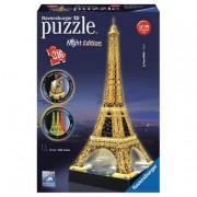 Ravensburger Ibã‰rica Ravensburger - Puzzle 3D Torre Eiffel Night Edition