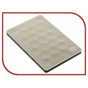 Жесткий диск Seagate Backup Plus Ultra Slim 2Tb Gold STEH2000201