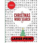 Christmas Word Search Large Print: Christmas Word Find, Christmas Puzzles, Large Print Word Search, Large Print Word Find, Paperback/Puzzle Pyramid