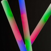 LED Foam sticks multicolor