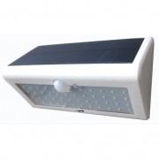 Led-solar-buitenwandlamp met bewegingsmelder, Wit