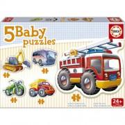 Puzzle Educa Baby Vehicule