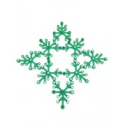 Lego Parts: Plant Leaves 6 x 5 (PACK of 8 - Green Leaves)