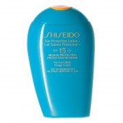 Shiseido Protector Solar Cuerpo Sun Protection Lotion Face & Body SPF 15