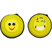 Pack Of Two Silicone Head Phone Pouch Coin Pouch
