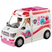 Barbie Set Ambulancia Y Hospital Bestoys Mattel