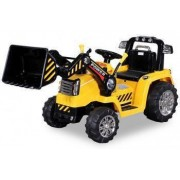 Excavator electric pentru copii Buldozer V12 STANDARD Galben