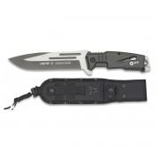 K25 Nůž K25 DROW-II pevná čepel ŠEDÝ