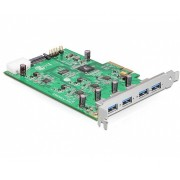PCI Express Card x4 > 4 x külső USB 3.0-A (