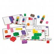Set 100 piese MathLink cu carduri pentru avansati Learning Resources